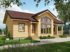 Одноэтажный дом с террасой